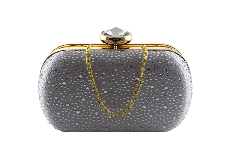 Silver sparkle clamshell clutch bag.jpg
