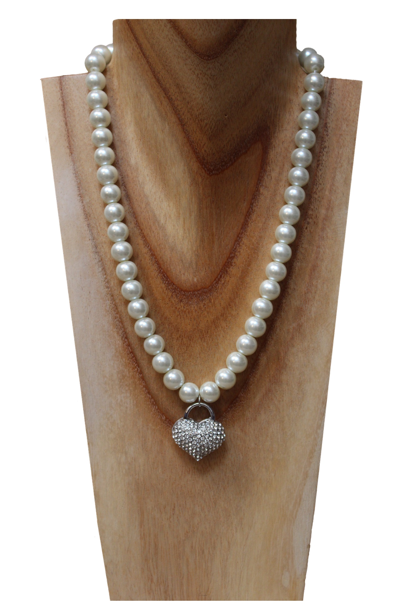 Chunky pearl necklace with heart pendant.jpg