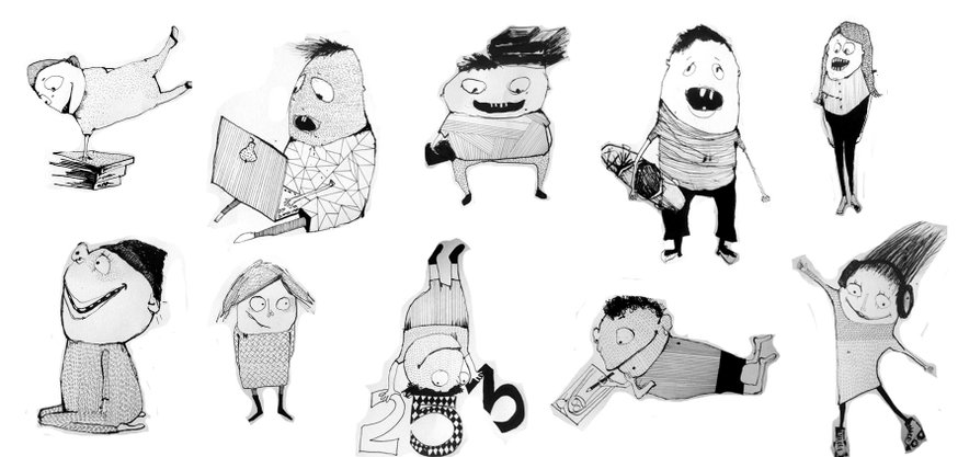 Silkeborg børnebibliotet - figurunivers