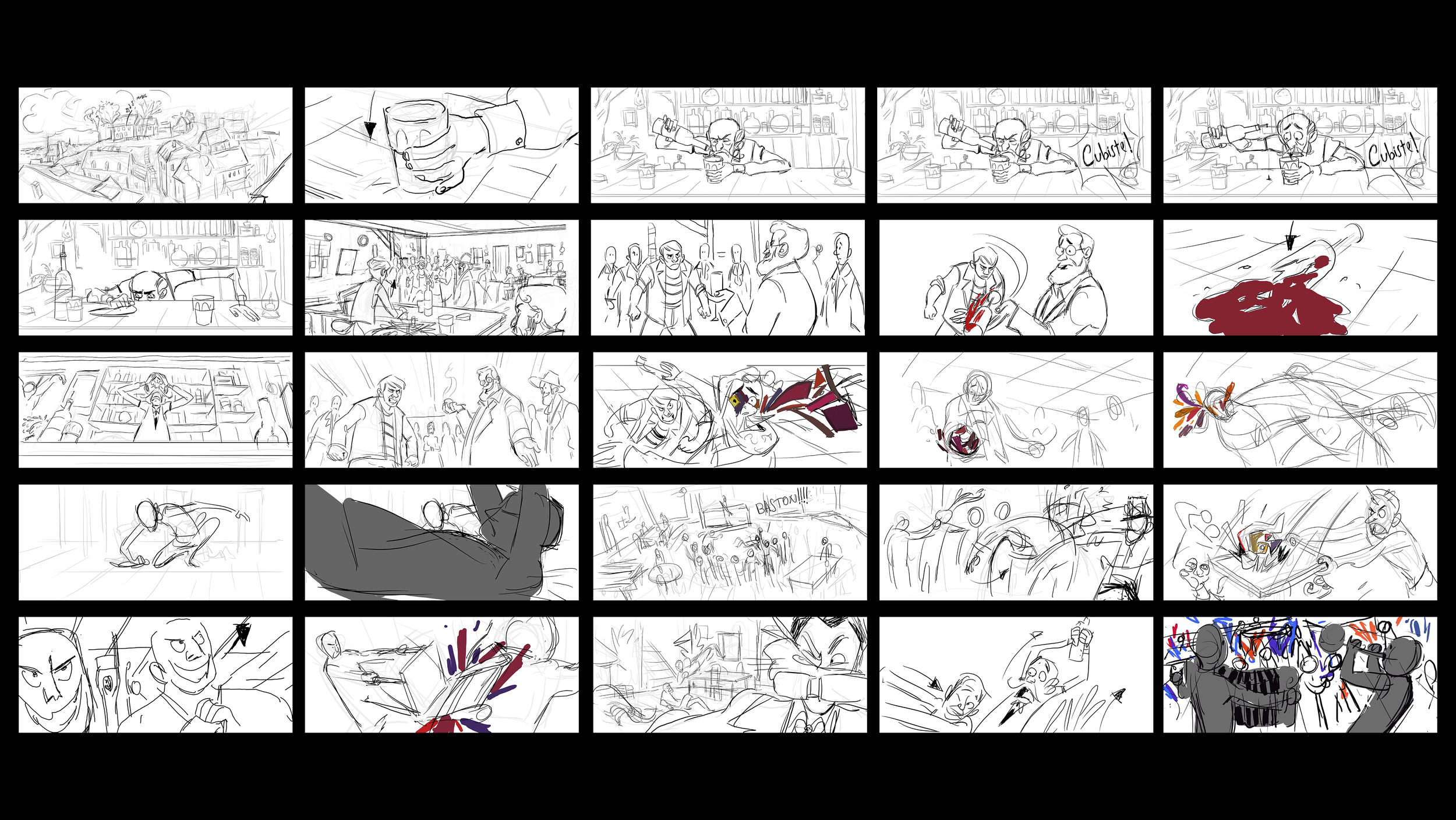 Storyboard research