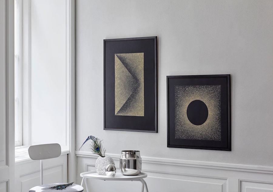 kristina-krogh-dotted-metallic-artworks-2