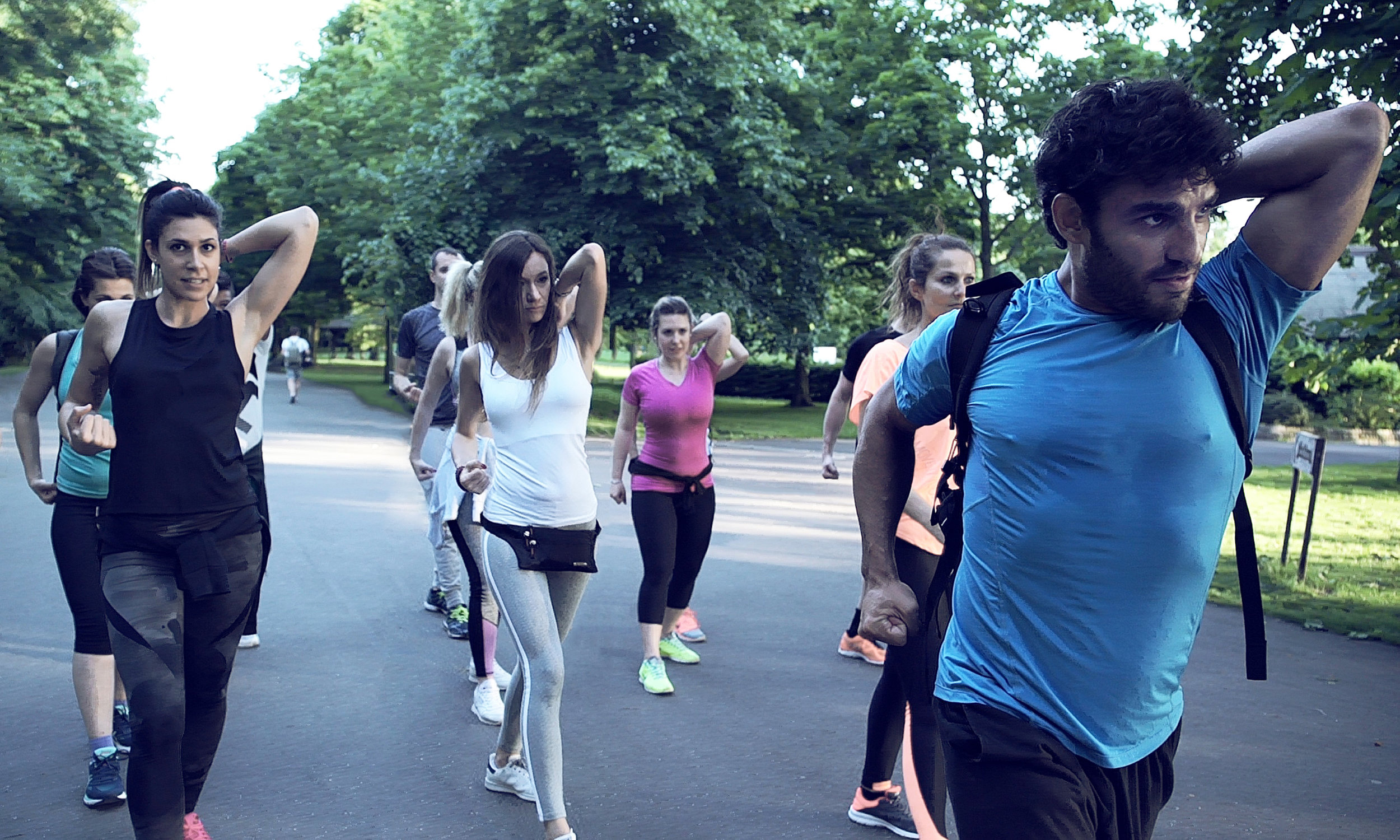 POWER WALK ESCAPES   Power walking is extremely beneficial for our body without damaging our joints. Our power walk escapes explore different areas of London whilst doing a full body workout and group exercises all to the rhythm of music, that are adaptable to all fitness levels.