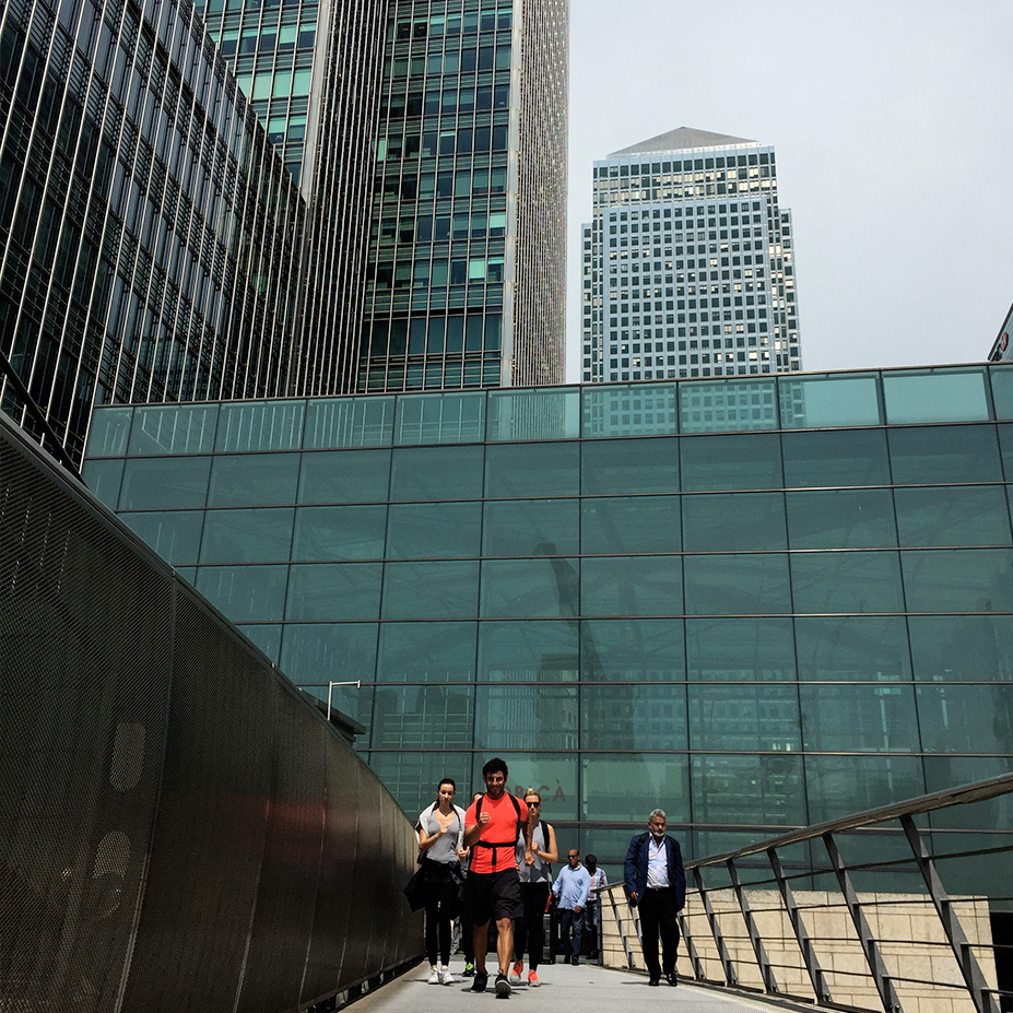 CANARY WHARF TO GREEWICH FITNESS TOUR -