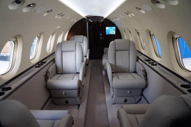 Hawker 750 Interior