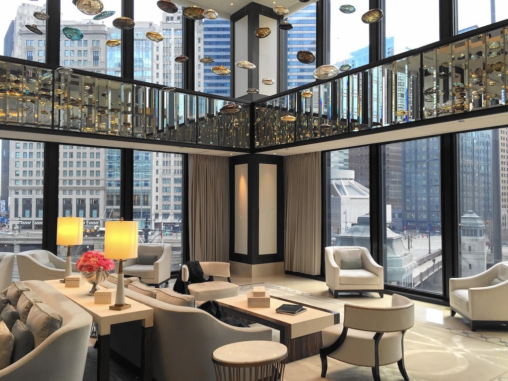 Private jet to Chicago, stay at the Langham for New Year's Eve with Quintessentially