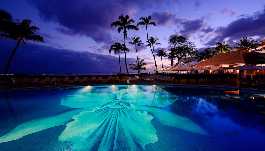 Private jet to Hawaii for New Year's Eve, stay at the Halekulani Hotel with Quintessentially