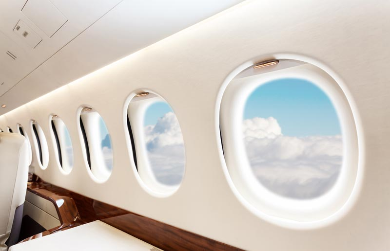Private jet cabin categories range from very light jet to large cabin sizes