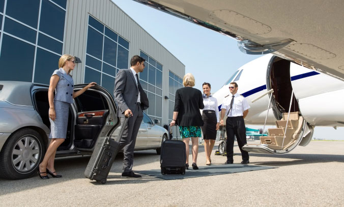 Convenient Airports - Arrange business travel to airports that are less busy and nearer.