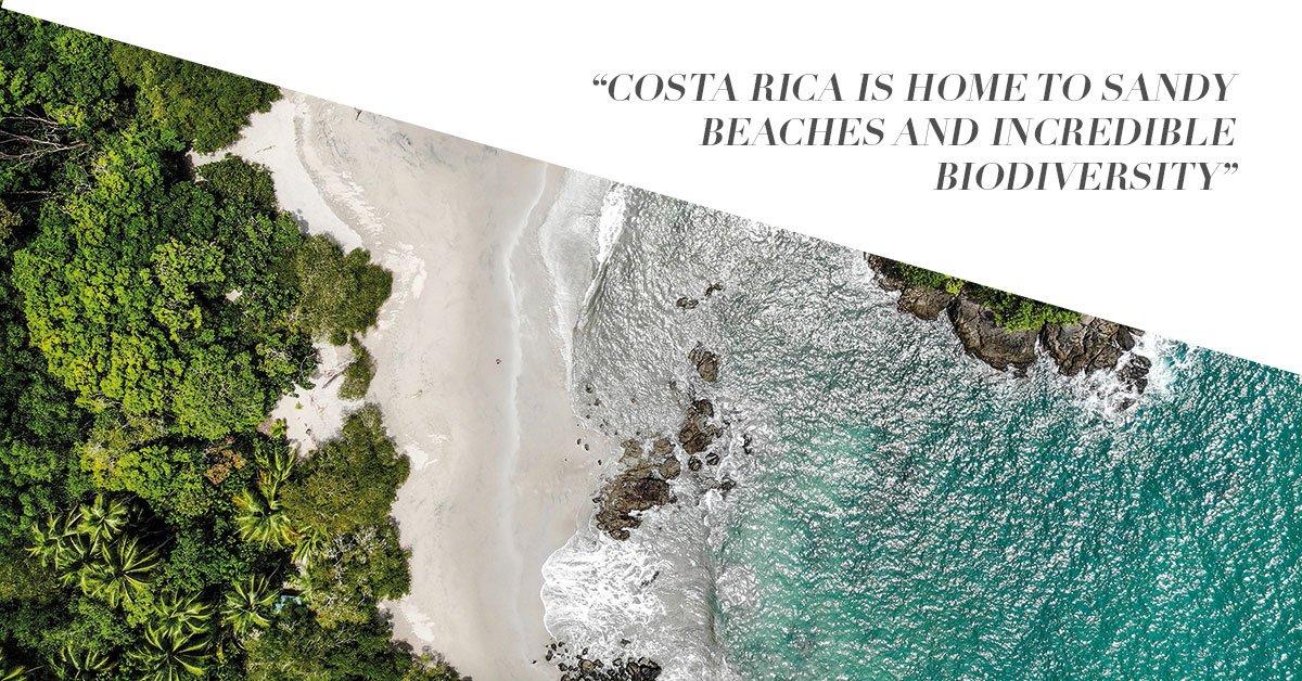 Private jet to Costa Rica
