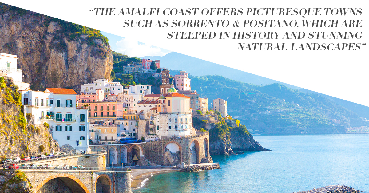 Fly by private jet to Naples & Amalfi Coast