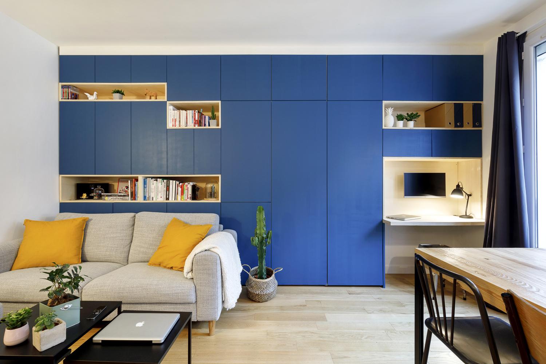 PARTICULIER   Agencement sur-mesure d'un appartement parisien