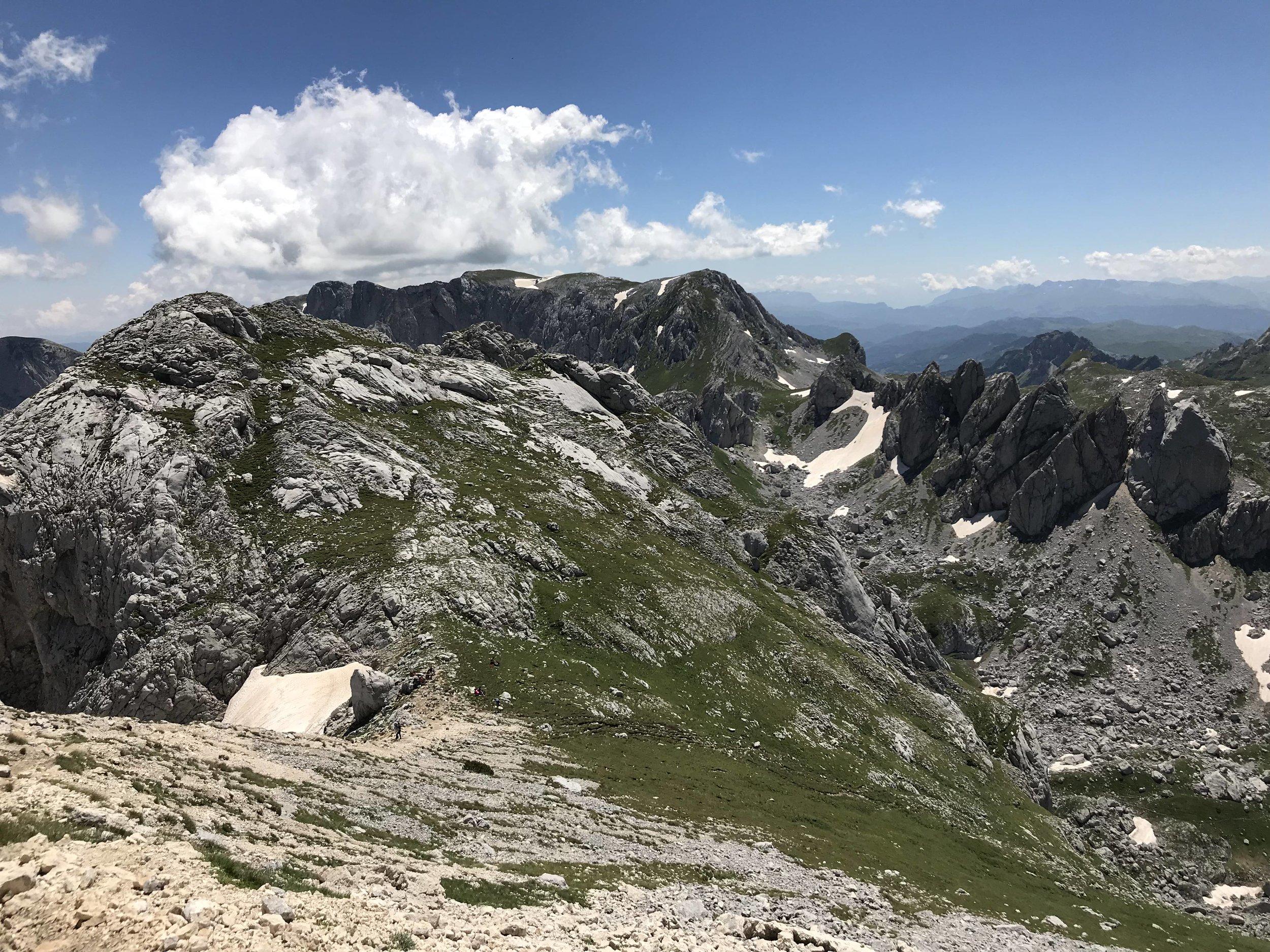 View from Bobotov Kuk