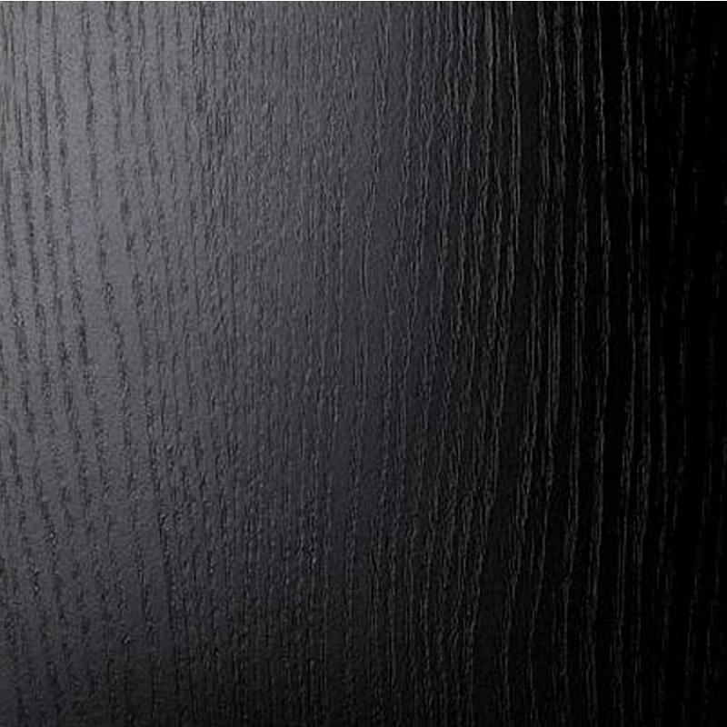 black stained ash / frêne teinté noir