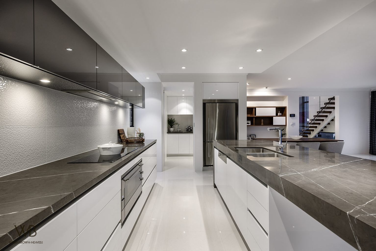 Medallion by Webb & Brown-NeavesLuxurious cabinetry designed by Jess O'Shea Designs in Perth, Western Australia.