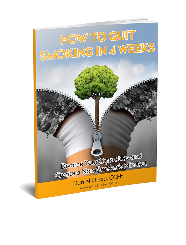 How to quit smoking in 4 weeks. By Daniel Olexa CCHt