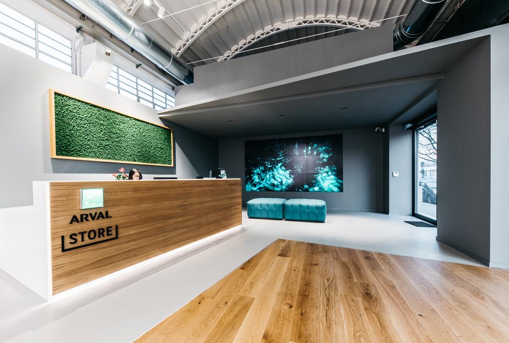 Il primo Arval Store dedicato al noleggio a lungo termine per i privati ha appena aperto a Torino, in corso Rosselli 236. ©Arval