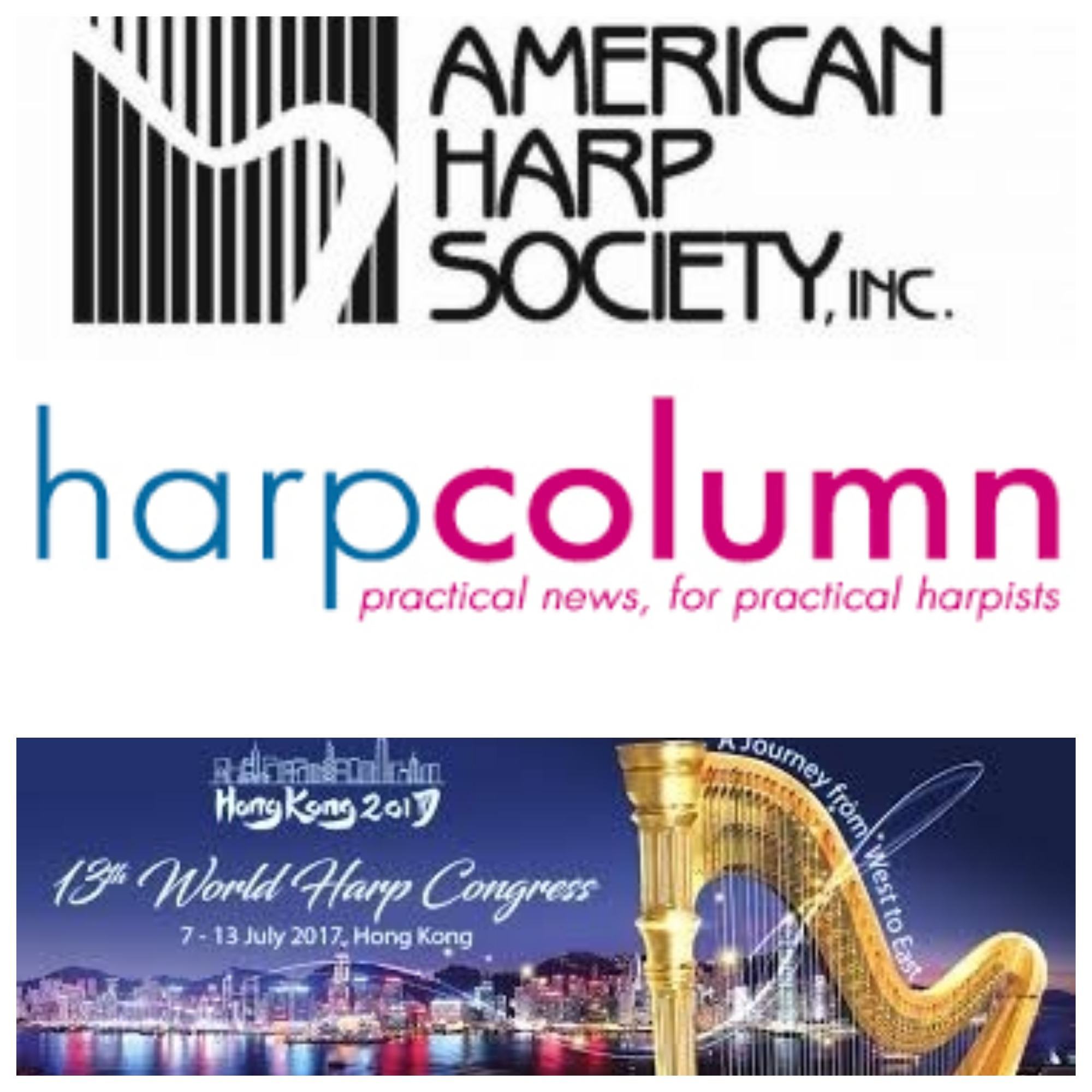 Subcribe or join these harp organizations for helpful harp news and tips