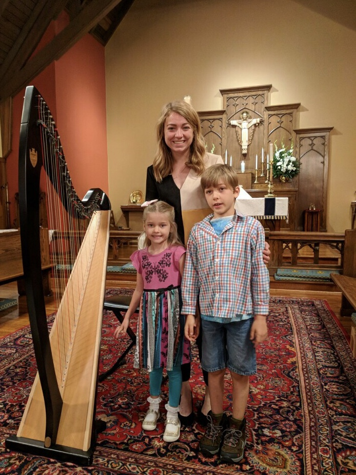 Two siblings who both played two beautiful solos in the May 2019 studio recital!