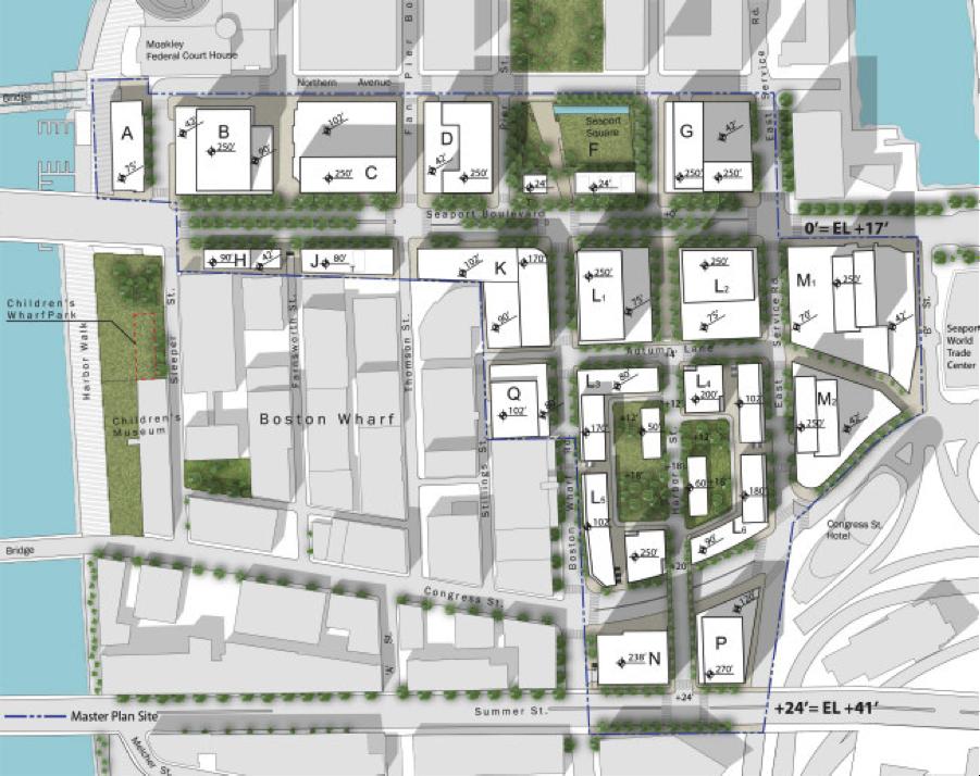 Seaport Square Masterplan