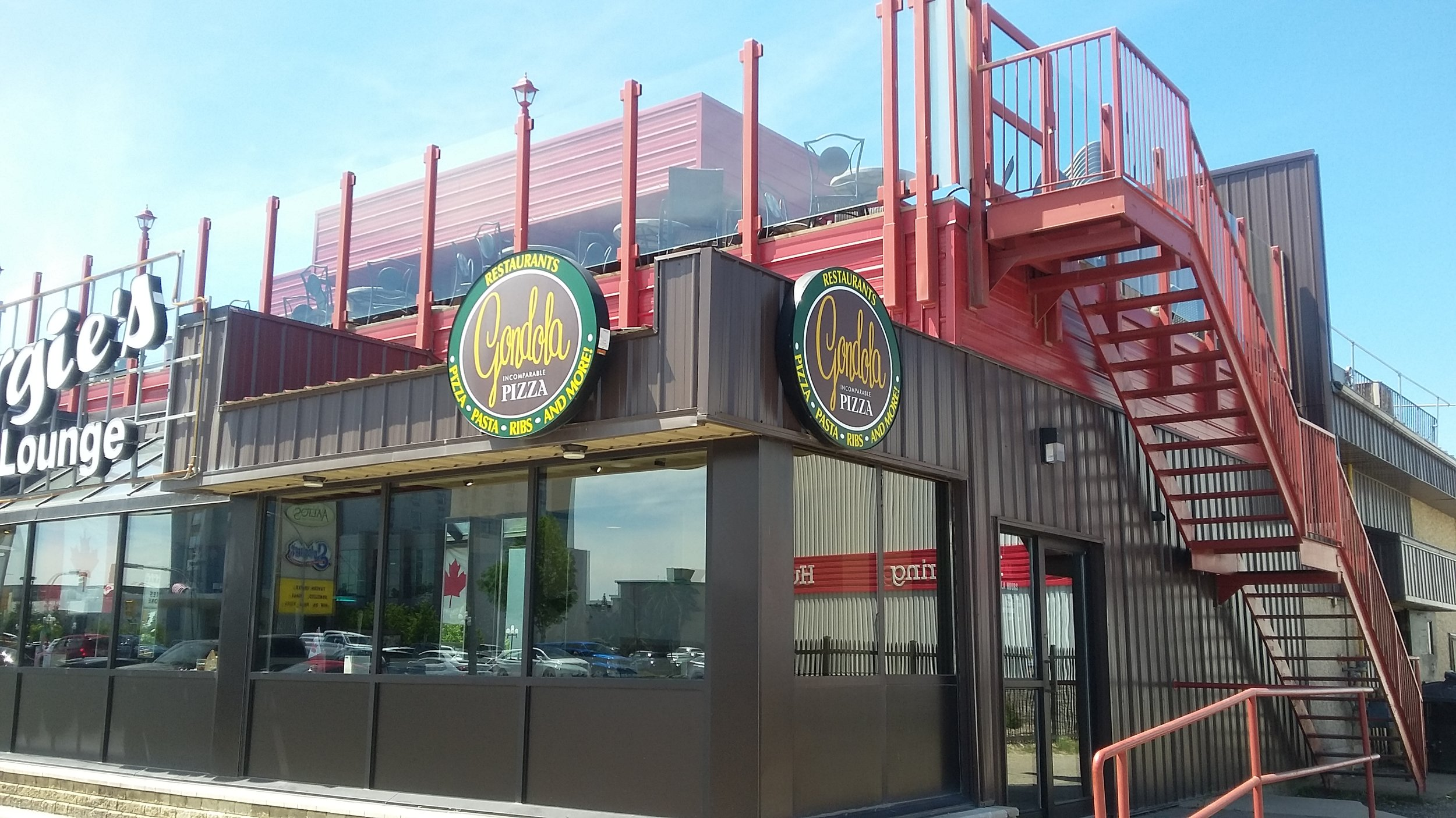 """Manitoba's Own - Gondola Pizza made and delivered its first pizza in Winnipeg in 1964.Our first restaurant was located at the corner of Oakenwald Avenue and Pembina Highway and we're proud to say we're still operating at the same site. Because of limited space, the commissary was first set up in the basement and the main floor restaurant became a convenient testing ground for our newly developed recipes.With a commitment to homemade quality, we created the world-famous """"Incomparable Original Thin Crust""""pizza.To this day, Gondola Pizza takes pride in its long-standing traditions of exceptional quality and extraordinary service. We've grown from humble beginnings in Winnipeg to being Manitoba's first choice in pizza, pasta, ribs, chicken wings, salads and so much more.Through all of our years of expansion, Gondola Pizza has remained a locally owned and operated company. Every day, we continue to provide Manitobans with great pizza, good times and life-long memories."""