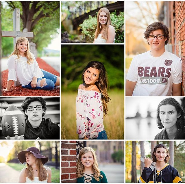 These are just a few of my favorite faces from the Class of 2018.  Out of thirteen years in the classroom, I taught seniors for eleven. It was my FAVORITE age.  So many big decisions.  So much to look forward to.  So much potential.  I love capturing beautiful images, but, more than that, I love getting to know incredible families and youth.  I have a few spots left open for the summer and I'm NOW BOOKING FALL SESSIONS. . . . . #classof2018 #classof2019 #sr2018 #sr2019 #leahconklinsenior #leahconklinphotography #stlmoms #senioryearmagazine #stlsenior #stlouisphotographer #stlouissenior #stlouis #stlmo #seniorportraits #seinorstyle #seniorlovin #seniorsession #thetwelfthyear #theseniorcollective #seniorologie