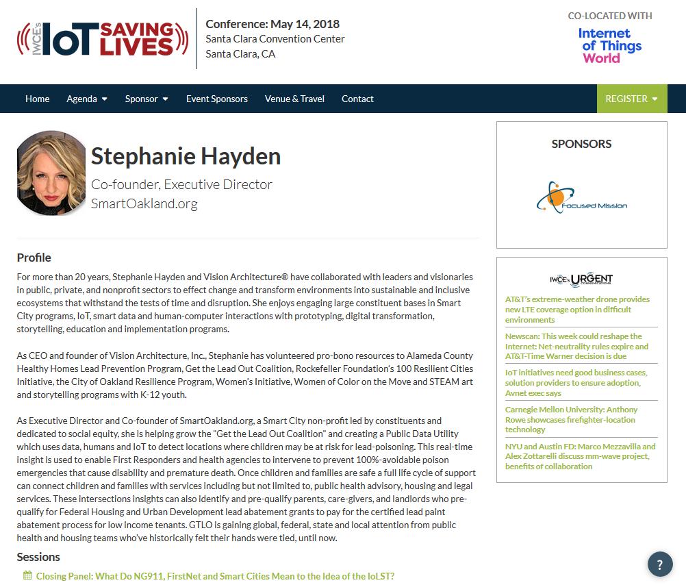 IoT World 2018 Hayden SmartOakland profile.png