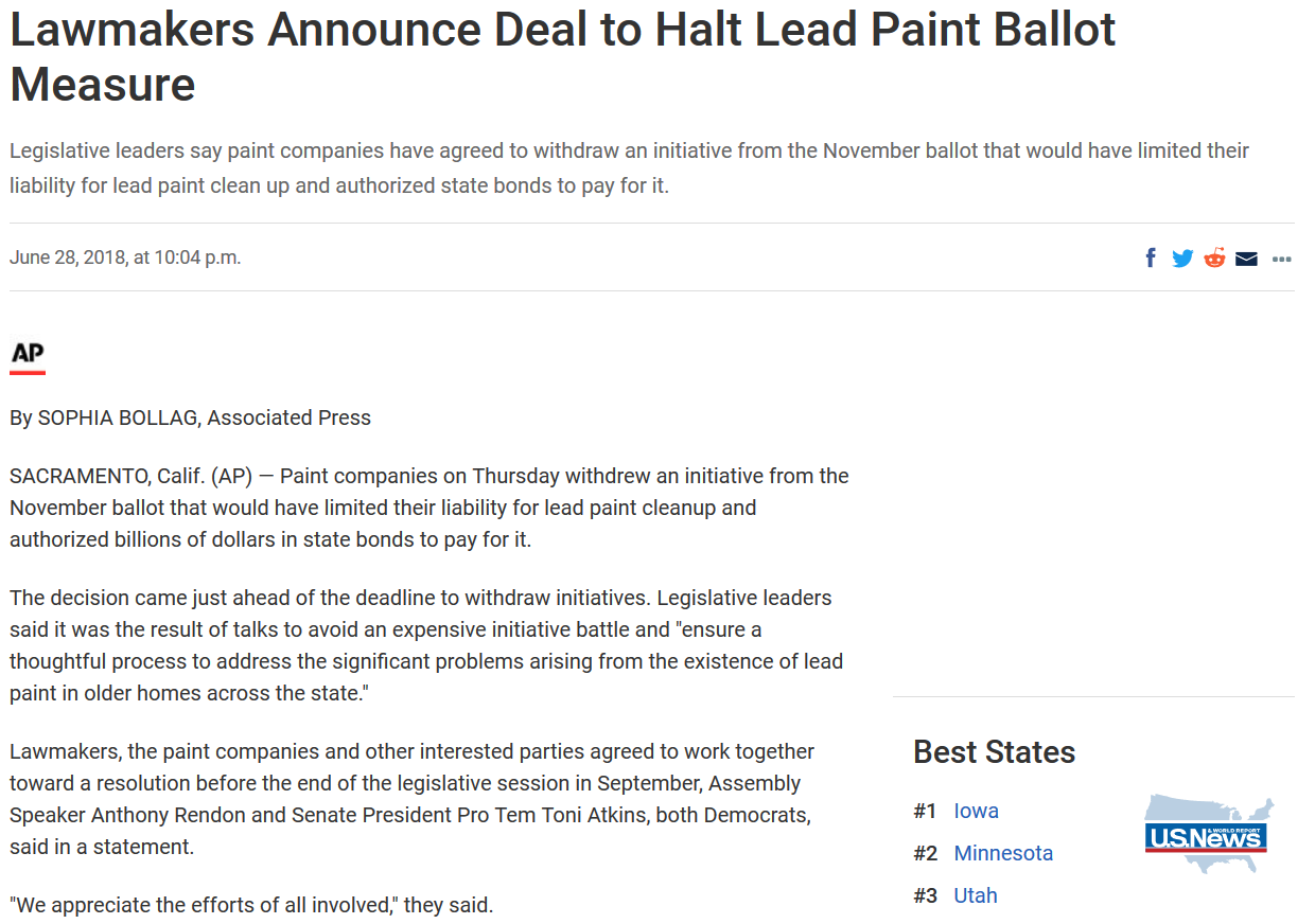 News_Associated Press_Lead Paint Ballot Halted CA_06282018.png