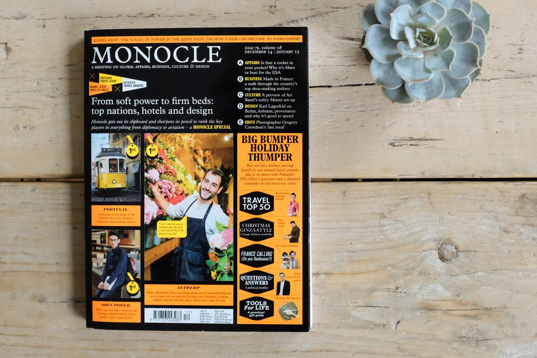 Ashley Watson in Monocle Magazine.