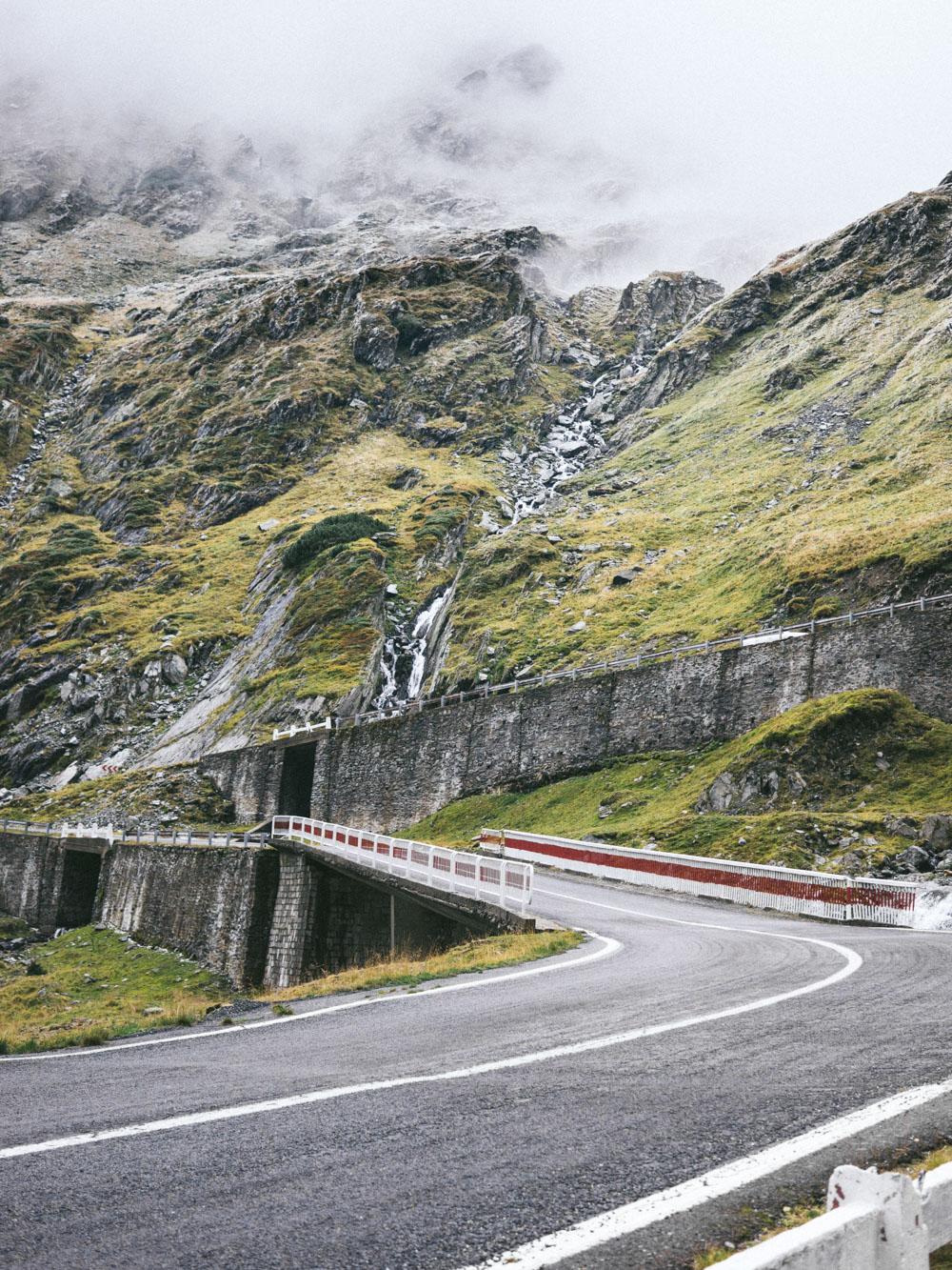 Image of the Transfagarasan National Road.