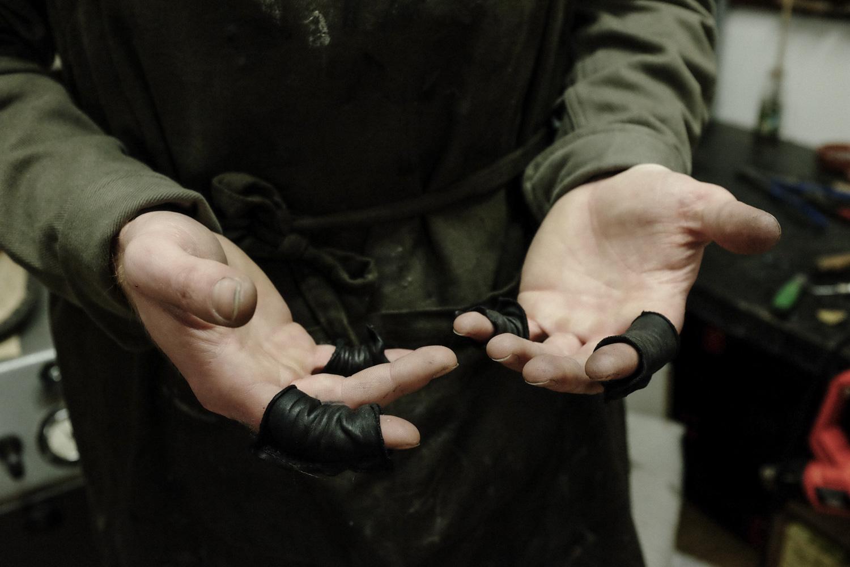 Bootmaker Felix Jouanneau Hands