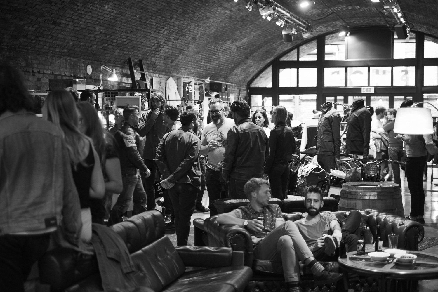 An image from the Eversholt Jacket launch party.