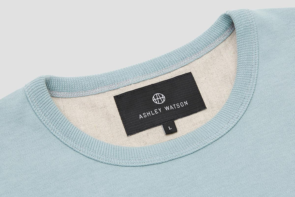 A low profile neckline ensures the Cardington Sweatshirt doesn't interfere with any additional layers.