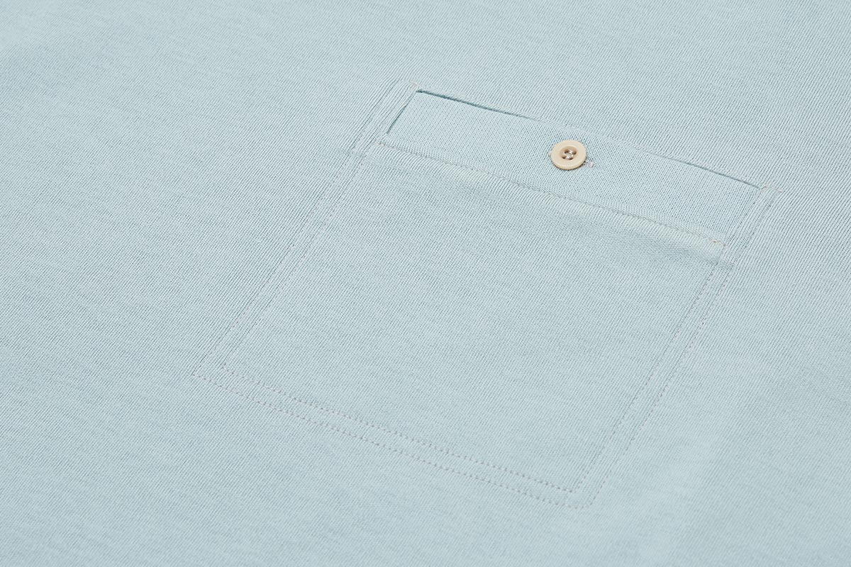 A buttoned chest pocket keeps essential documents secure when on two wheels.