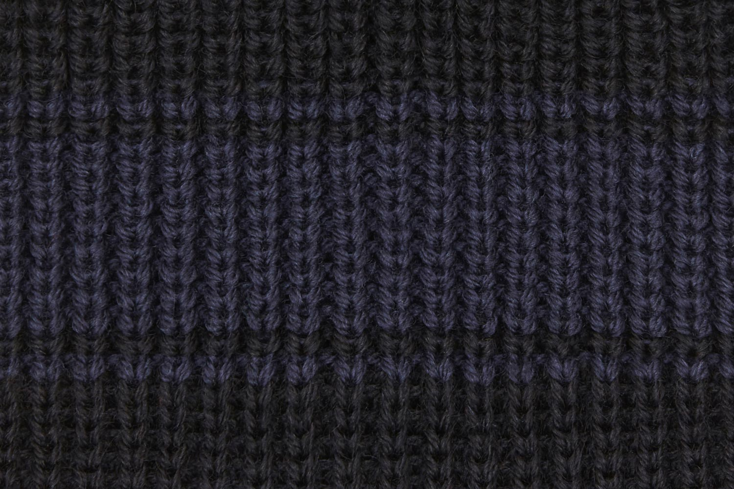 Contrast Colour Merino. Knitted in England.