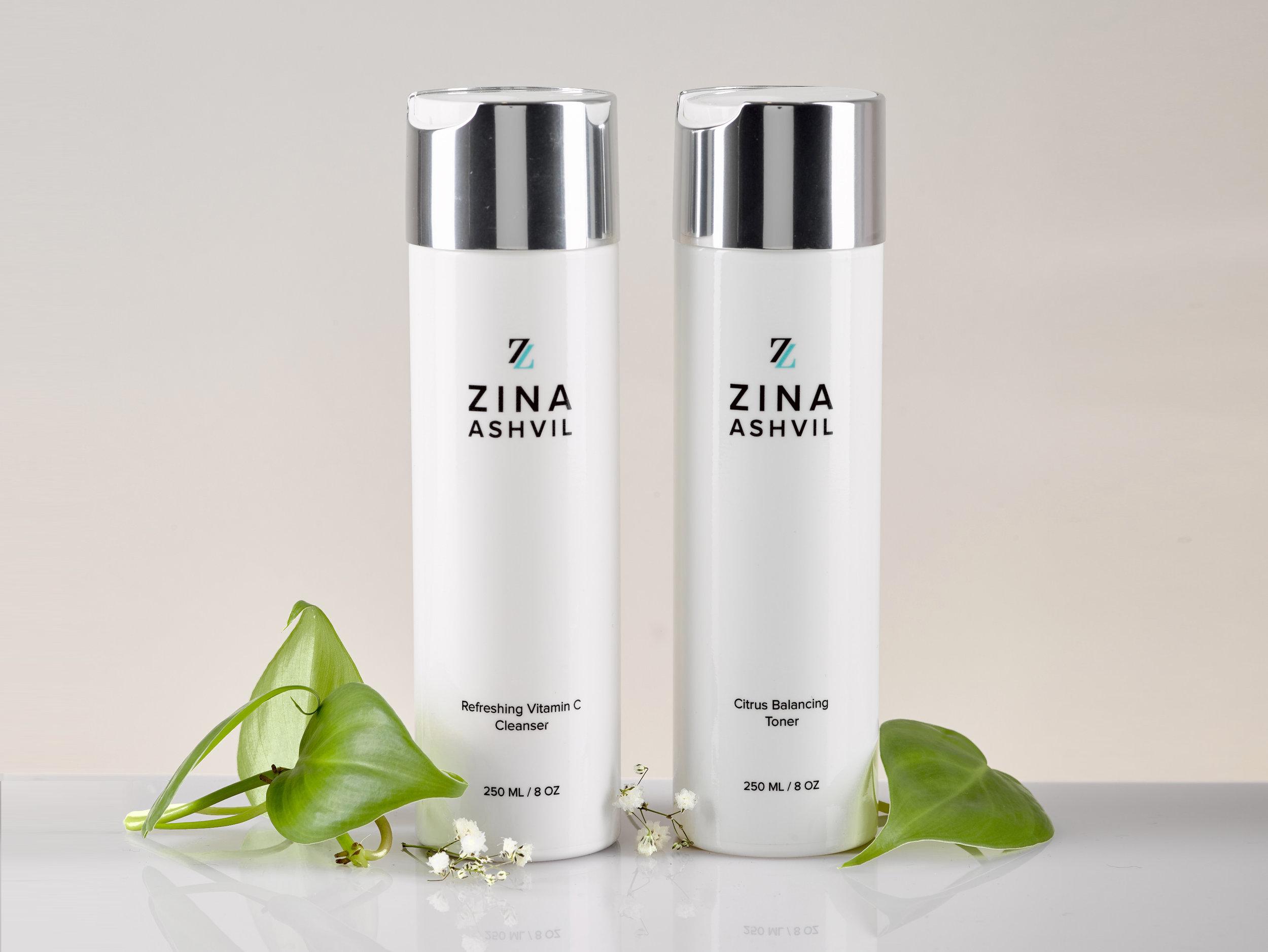 zina ashvil skincare products-cleanser and toner.jpg