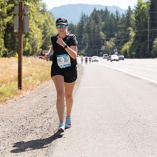 I've barely been running during yoga teacher training, so here's a #globalrunningday flashback to that time the #beastcoastcrew crushed Hood to Coast. (And to that time I had a camera crew following me around to take epic running shots. 📷: @stefaniacurto x @fredgoris)