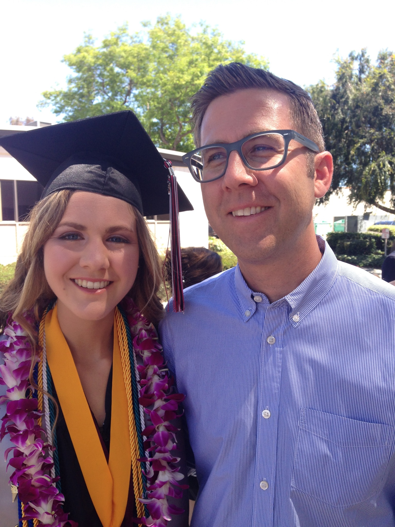 Emily + Dad