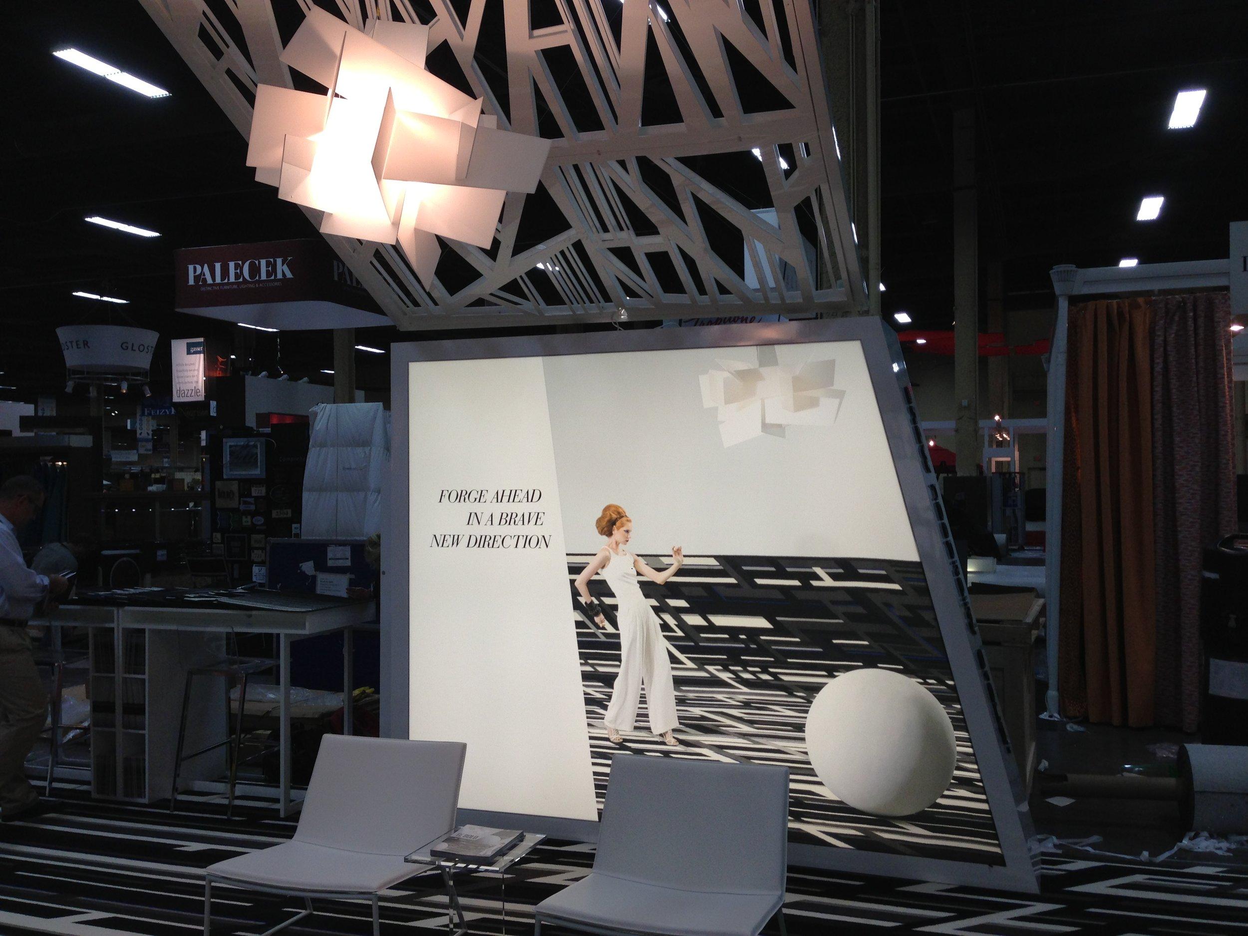 Hospitality Design Tradeshow Booth