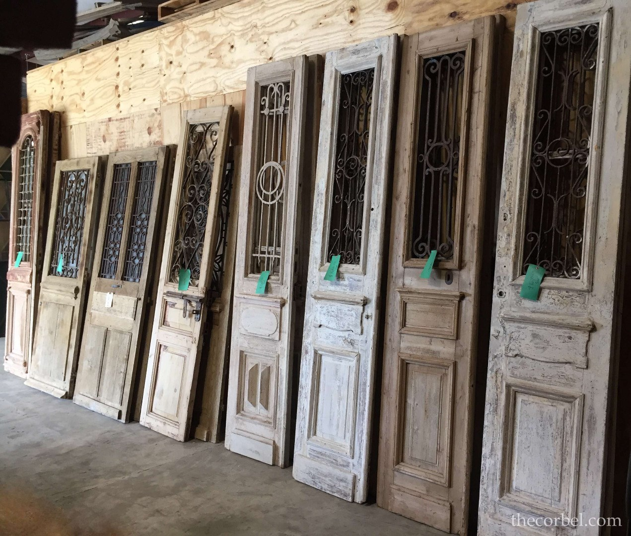 iron antique doors
