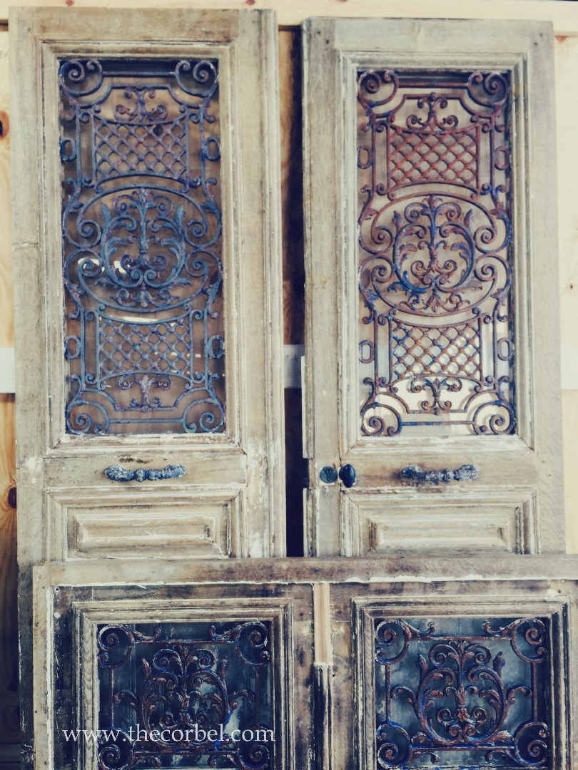 European iron doors