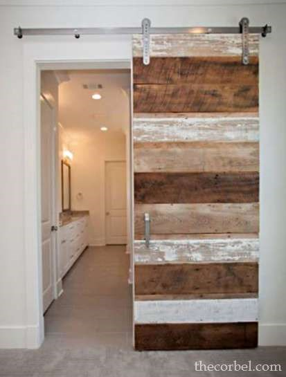 custom cypress barn door