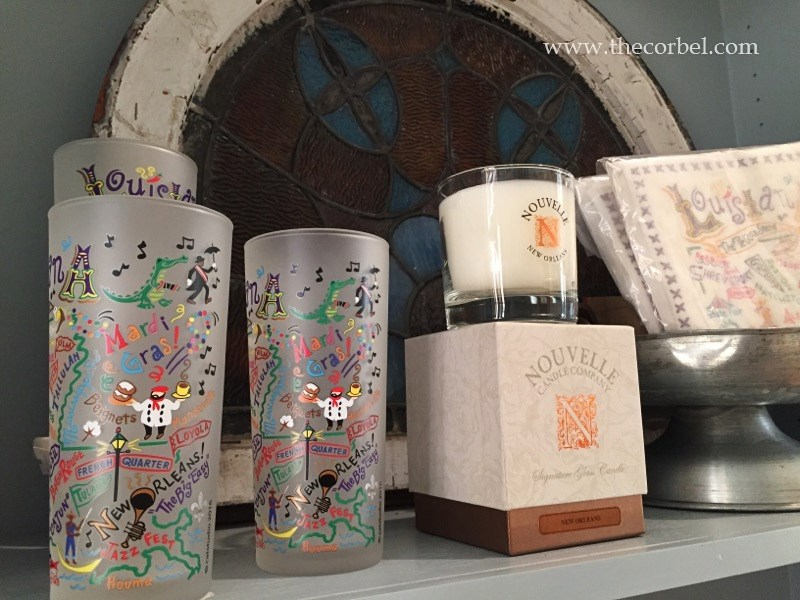 louisiana glasses nouvelle candles
