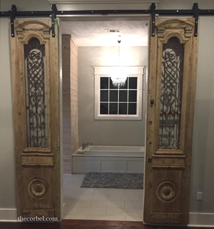 iron doors on sliders