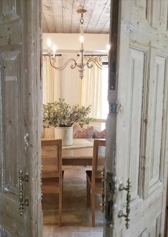 Doors from The Corbel used by The French Nest Co. Interior Design.