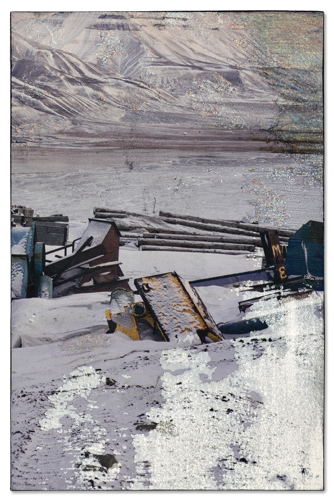 Store Norske, Mine #7,<br>Longyearbyen (yellow)