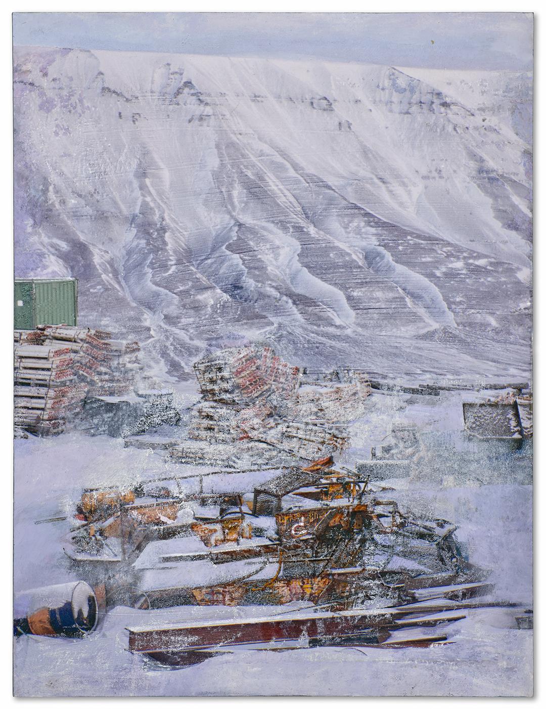 Store Norske, Mine #7,<br>Longyearbyen (snow)