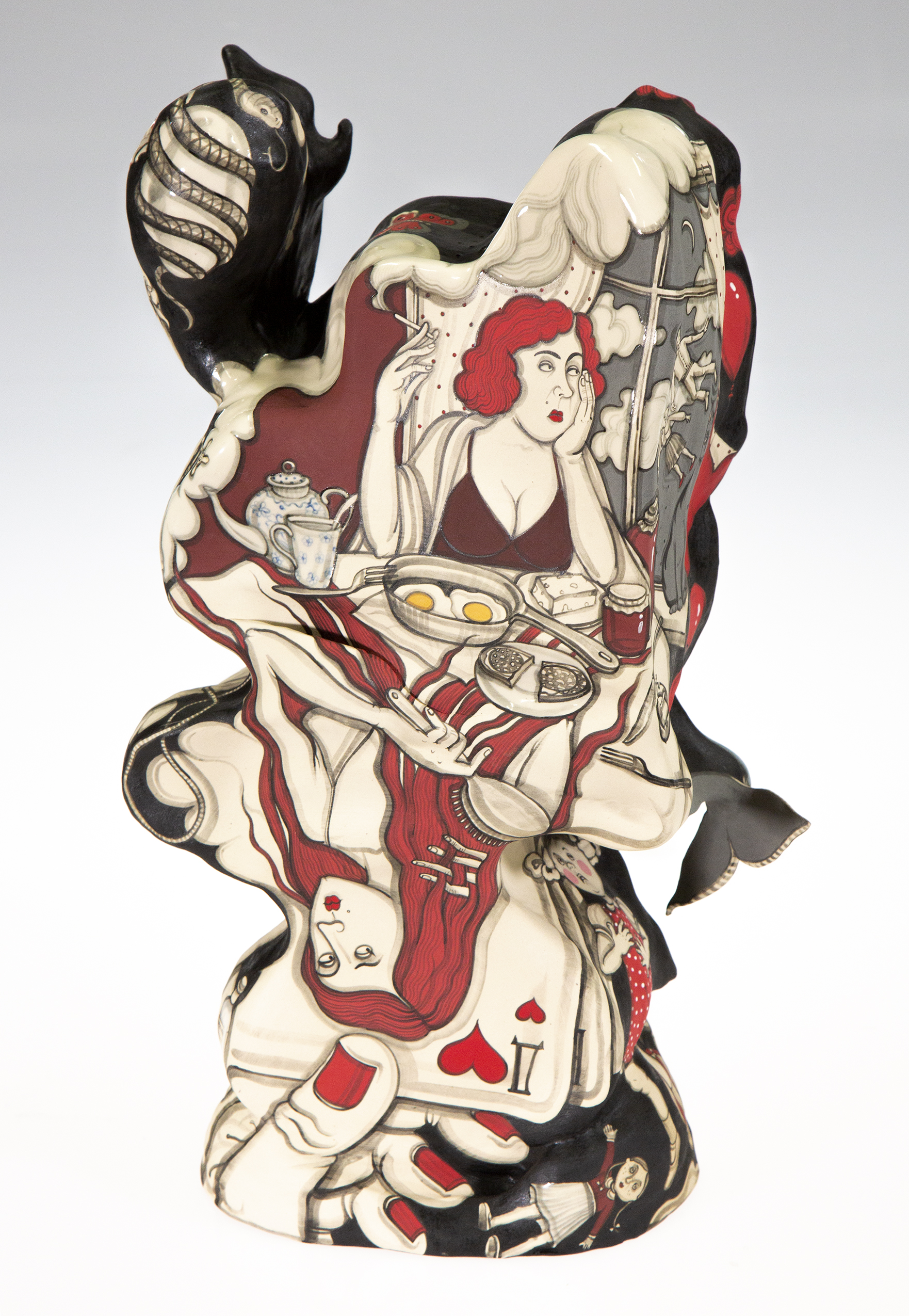 Revolutions  - Works in ceramic by Yana Payusova