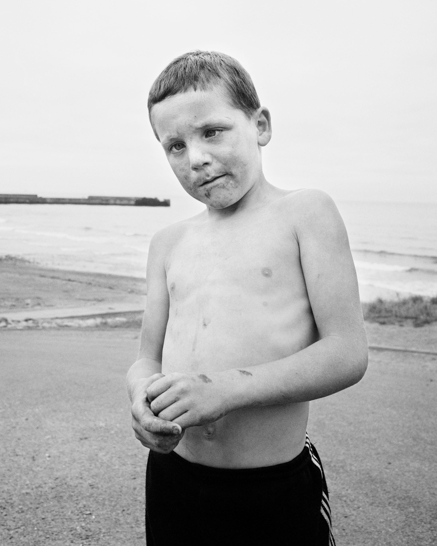 Skinningrove 1982 - 84 - Photographs by Chris Killip
