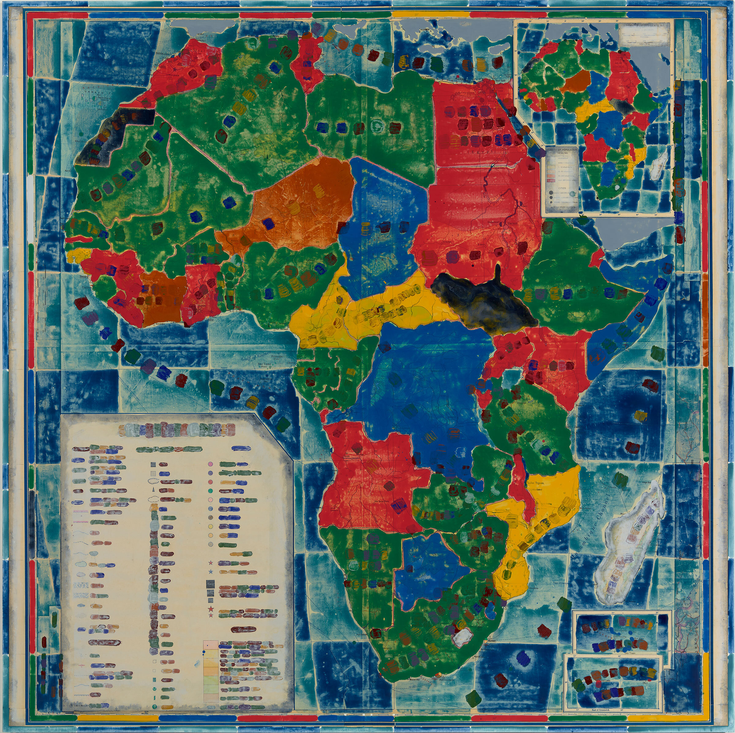 Contest – Africa (with colonial documents listing extractible resources and populations)
