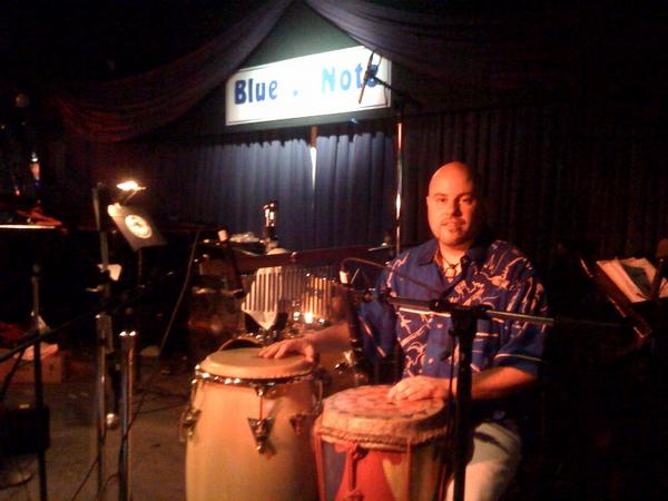 Markus at the Blue Note